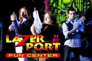 Photo of the LazerPort Fun Center in Pigeon Forge.