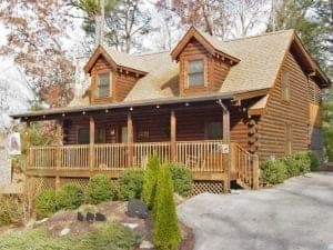 getaway cabin in pigeon forge